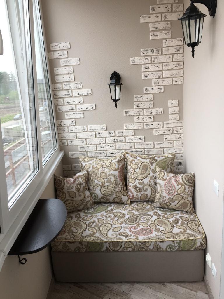 Купить маленькие кожаные кресла для балкона.